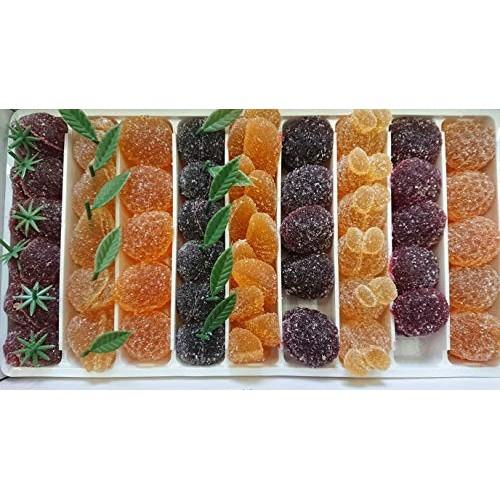 Caramelle miste gelatina alla frutta - 1 kg