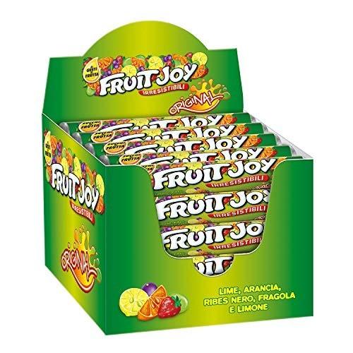 36 tubi di Caramelle Gommose Fruit Joy