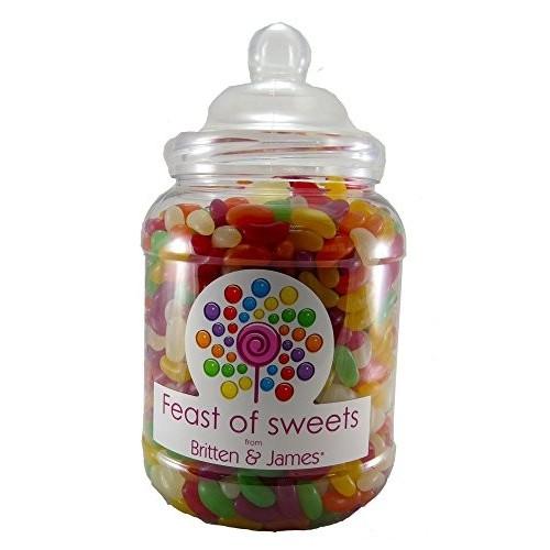 Barattolo da 2kg di Jelly Beans con tappo