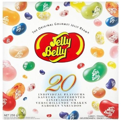 Caramelle Jelly Belly da 250g, 20 gusti assortiti