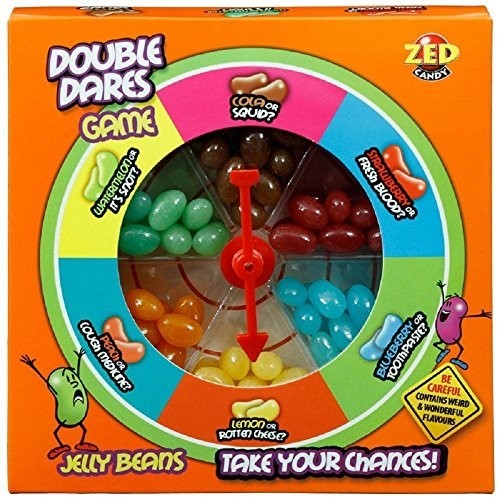 Gioco roulette con caramelle Jelly Beans