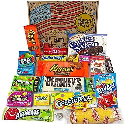 Confezione Snack Americane Jelly Beans e cioccolata