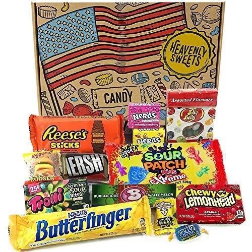 Confezione Piccola di Snack Americani con caramelle e cioccolata