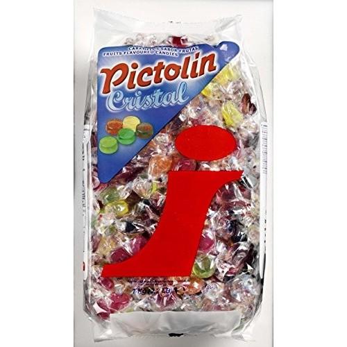 Caramelle dure alla frutta - Pictolin Cristal da 1 kg