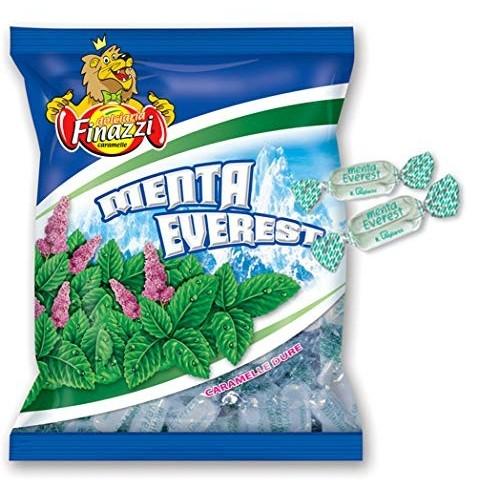 Caramelle dure gusto Menta Everest Finazzi da 1kg