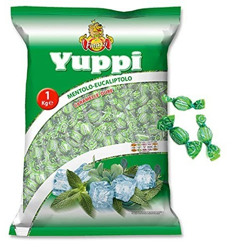 Caramelle Yuppi alla menta -  Finazzi da kg 1