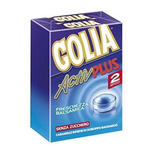 12 conf. di Golia Activ Plus le caramelle balsamiche al mentolo