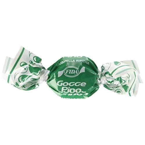 Caramelle dure ripiene al gusto Pino da 1 kg - Gocce