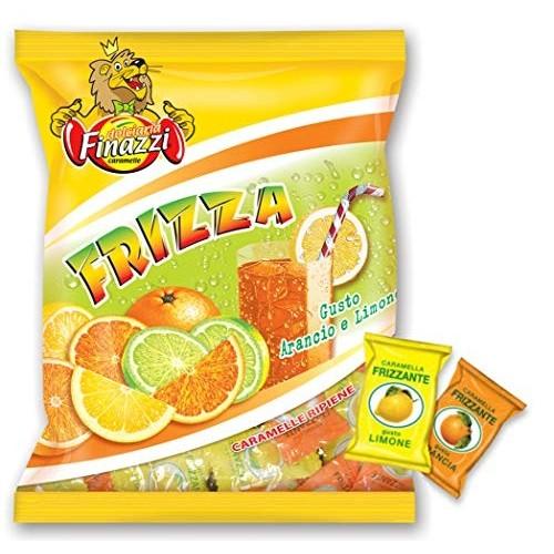 Caramelle frizzanti ripiene arancia e limone Finazzi da kg 1