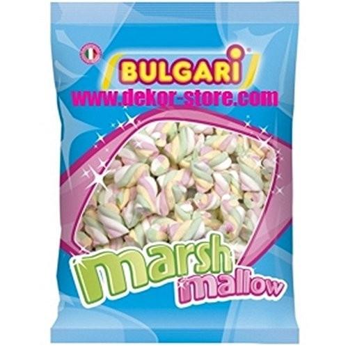 Marshmallow treccia 4 colori da 1 kg - Bulgari
