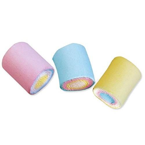 Marshmallow cilindri arcobaleno da 1 kg 1KG