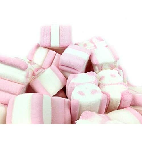 Orsetti di marshmallow rosa e bianchi da 1kg