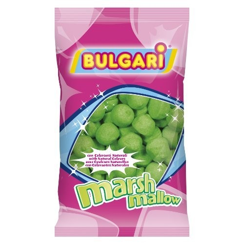 Marshmallow palline da golf verdi–900gr - Bulgari