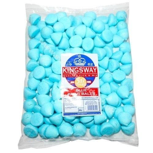 Marshmallows Blu allo zucchero da 900g Bulk