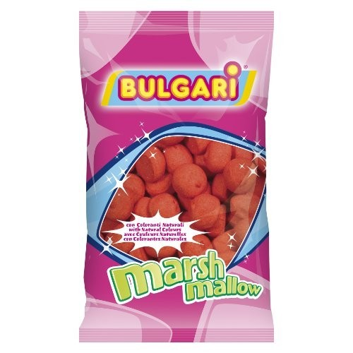Marshmallow palline rosse Bulgari, conf. da 900gr