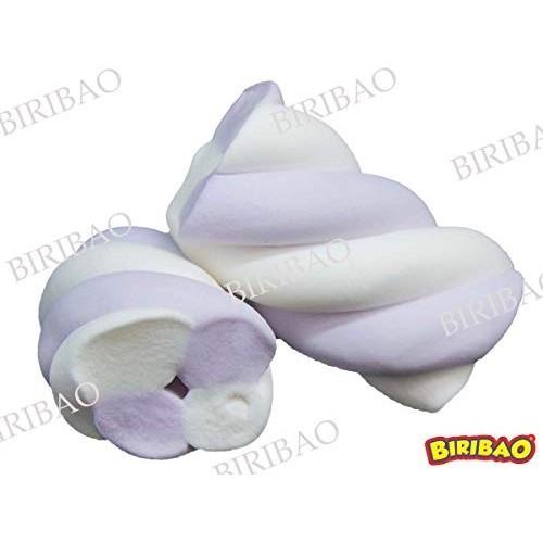Marshmallow Bulgari treccia bianche e lilla da 900gr