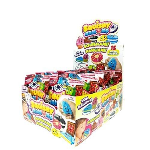 24 Scquishymallow, caramelle gommose gusti vari