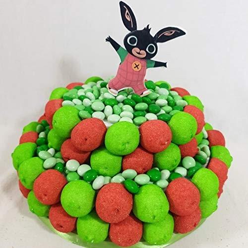 Torta di caramelle marshmallow e confetti Bing coniglio confettata economica