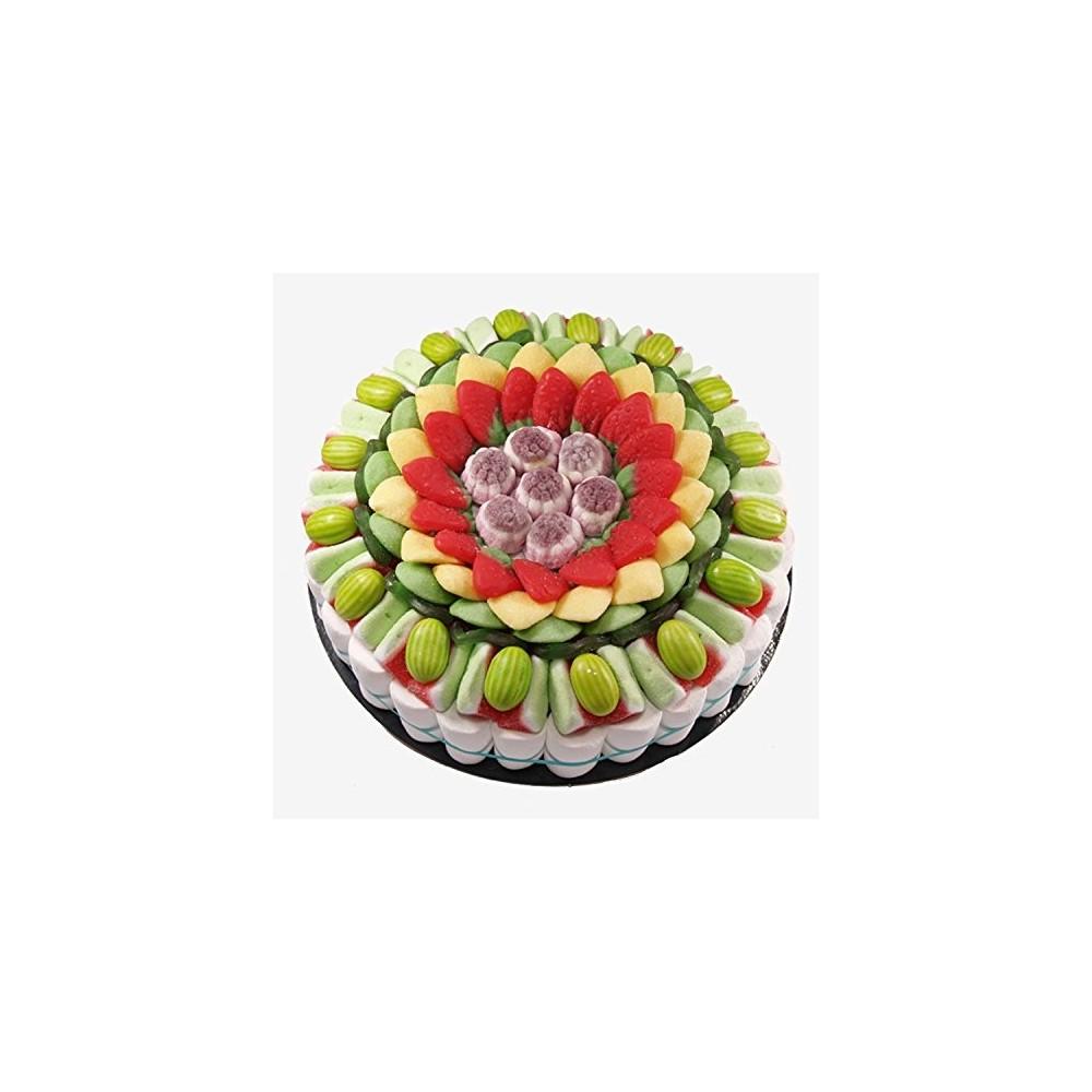 Torta di caramelle alla frutta da 27 cm