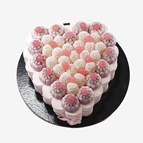 Torta di caramelle forma cuore da 22 cm