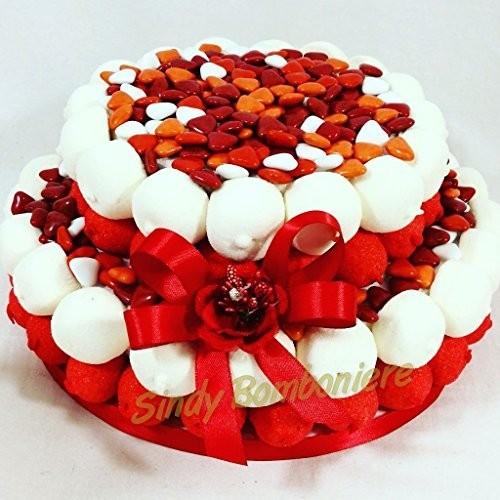 Torta di caramelle per Laurea