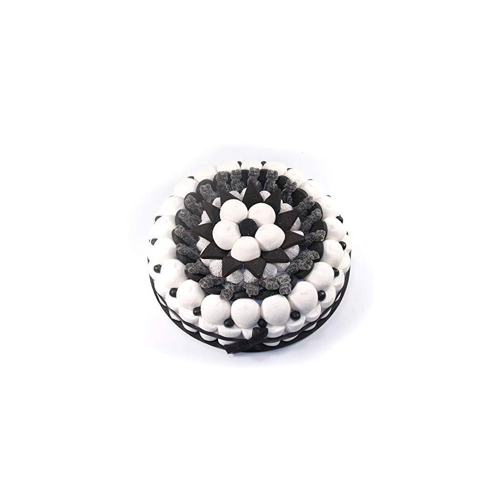 Torta di caramelle Black&White 27 cm