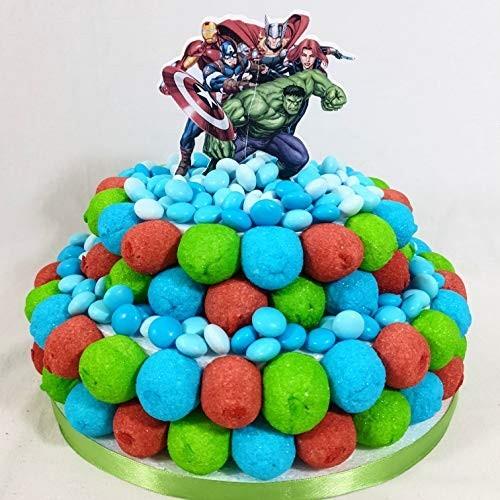 Torta di caramelle Marvel Avengers