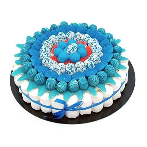 Torta di caramelle Blue da 27 cm