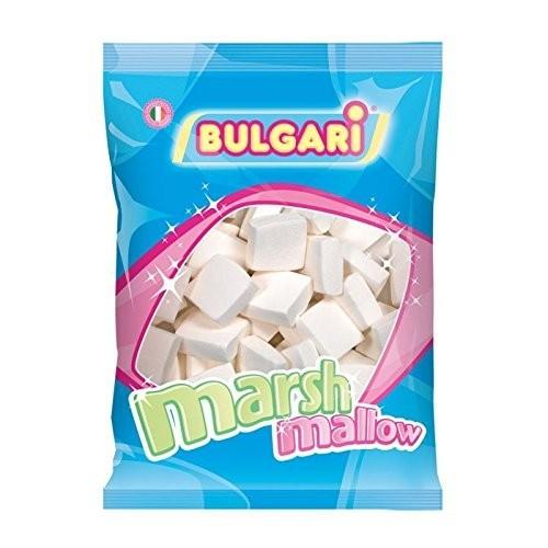 Quadratini di marshmallow bianchi - Bulgari da 1kg