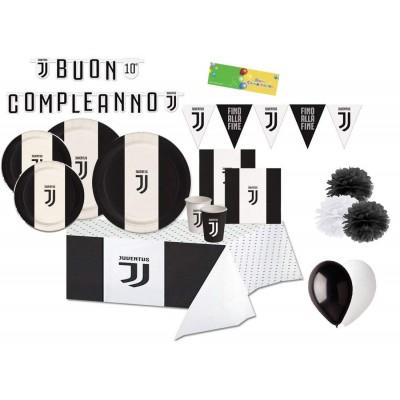 Kit 8 persone con festone  F.C Juventus