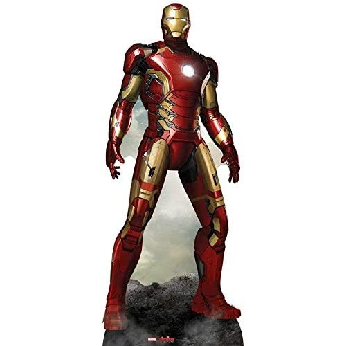 Action figure in cartone Iron Man - Marvel