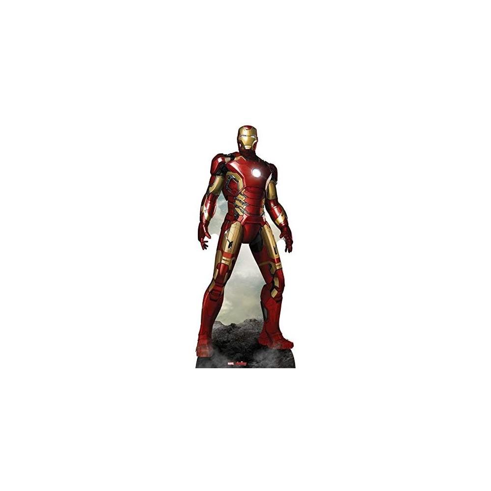 Action figure in cartone Iron Man - Marvel