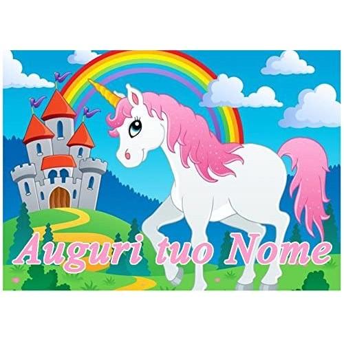 Cialda quadrata Unicorno