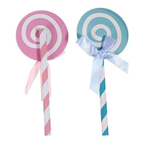 12 Pezzi Lollipop spirale12x5cm