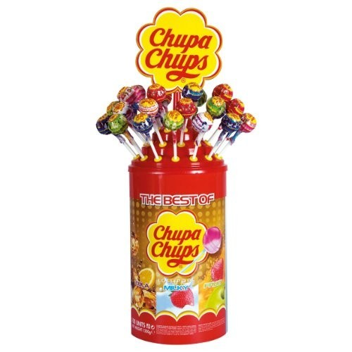 Espositore con Chupa Chups - The Best Of Sucettes