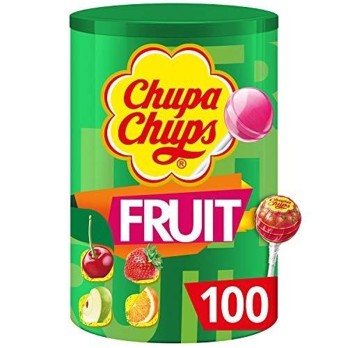 Barattolo con 100 Chupa Chups alla frutta