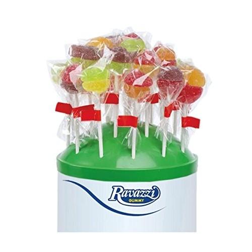 50 Lecca Lecca Lollipop Gelèe da 16gr Ravazzi Gummy