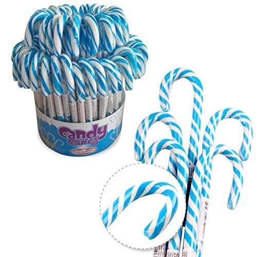72 Candy Cane azzurri