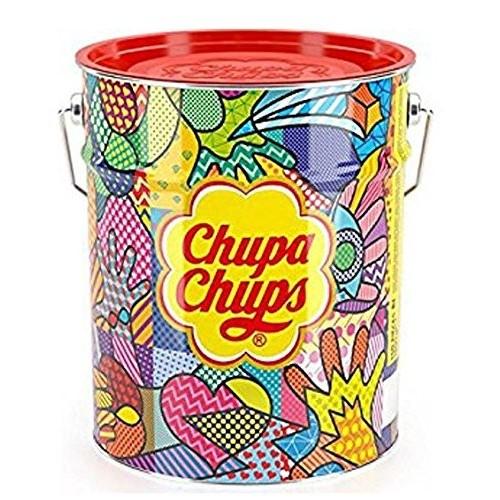Latta box con 150 Chupa chups assortiti