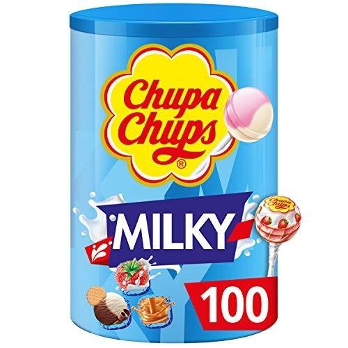 100 Chupa Chups  panna, caramello e vaniglia