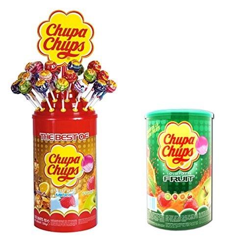 200 Chupa Chups con barattolo dispenser
