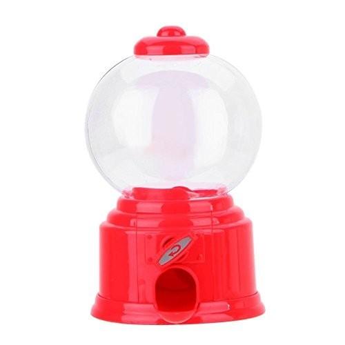 Mini distributore di caramelle rosso