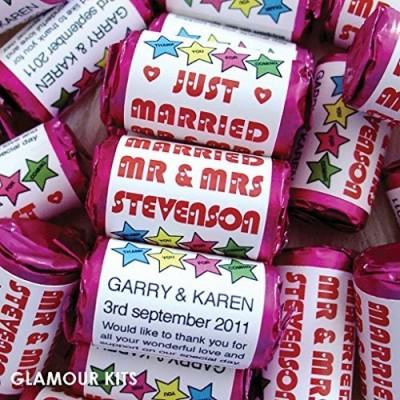 100 caramelle personalizzabili su confezione