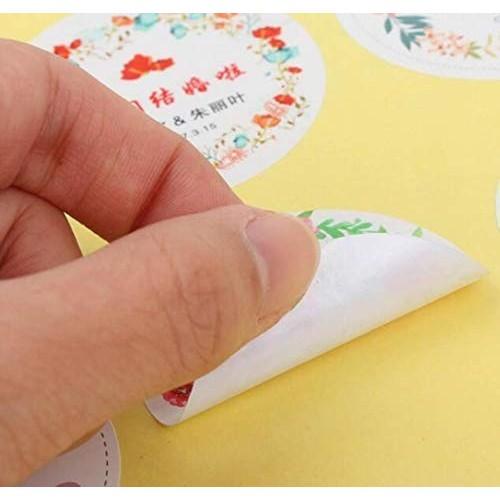 100 etichette adesive personalizzabili per caramellate