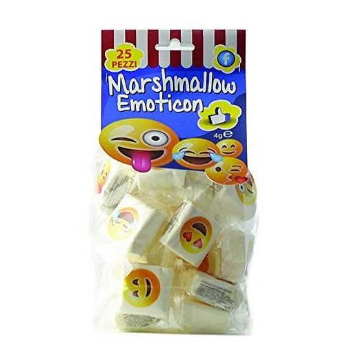 25 Marshmallow Emoticon, Emoji