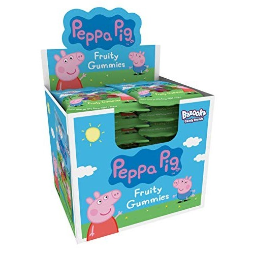 24 bustine con gomme fruttate Peppa Pig