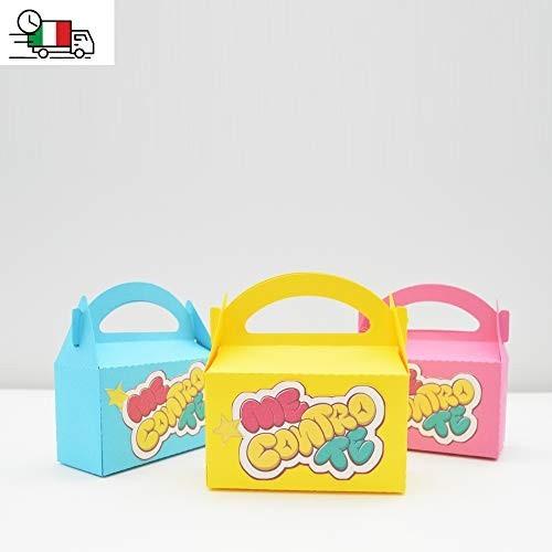 5 scatoline per caramelle Me contro Te