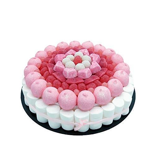 Torta di caramelle rosa - Pink da 27 cm