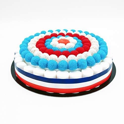 Torta di caramelle Francia da 27 cm