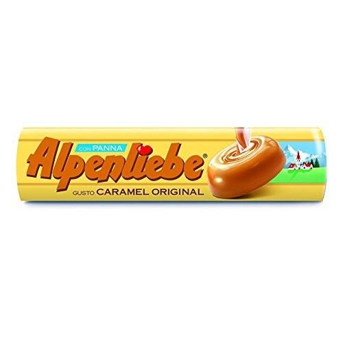 24 stick originali caramelle mou Alpenliebe